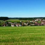Blick auf Frutenhof
