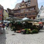 Markt in Tübingen