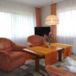 Ferienwohnung im EG Wohnzimmer